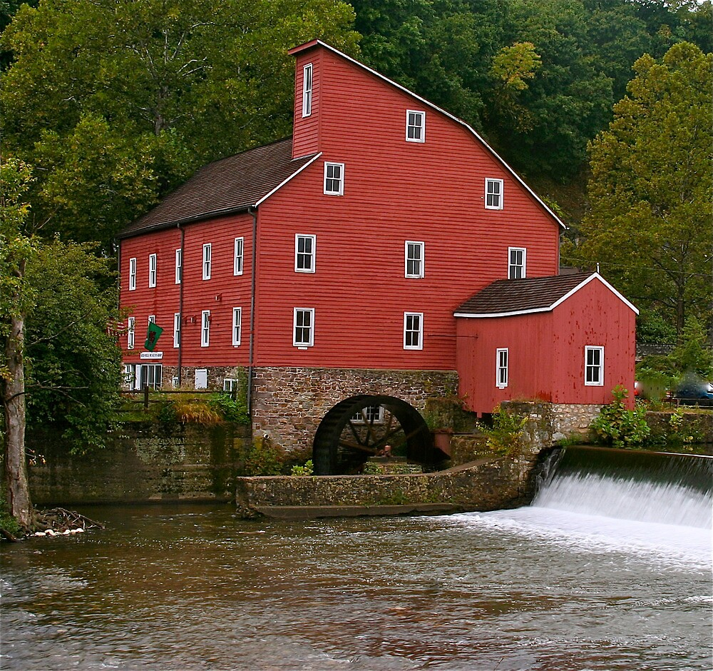 Mill at Clinton ,New Jersey by daliant