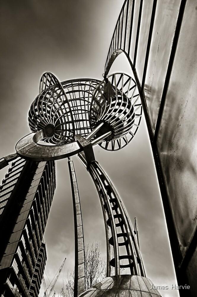City of Melbourne Sculpture by James  Harvie