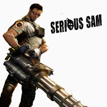 Serious Sam t-shirt by skywarp123