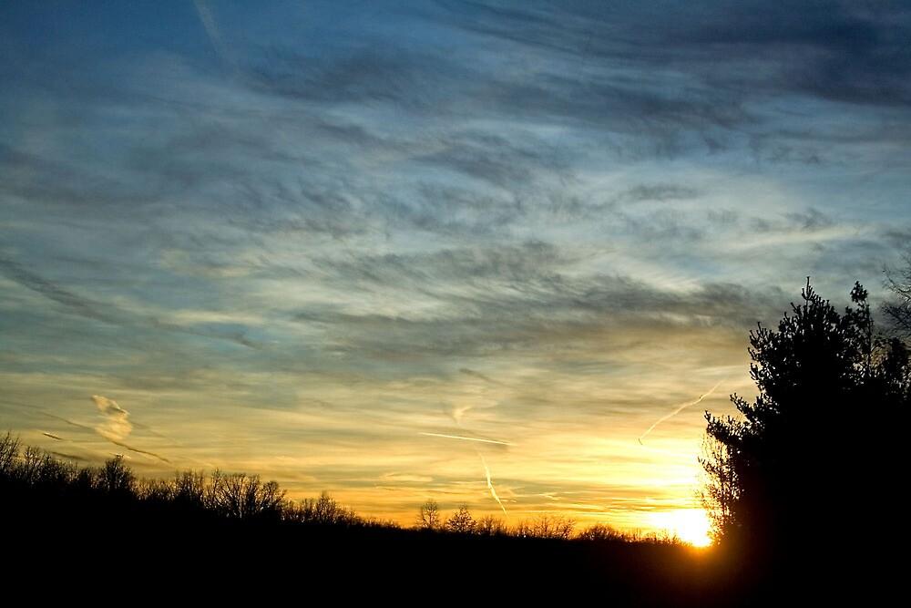 Sunset at Basking Ridge by daliant
