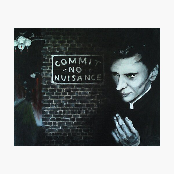 Commit No Nuisance Photographic Print