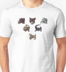 Monster Hunter Pyramid Design T-Shirt