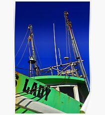 Lady Shrimper  Poster