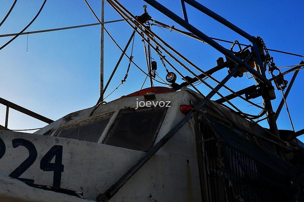 Old Shrimp Boat by joevoz
