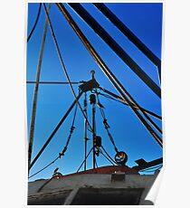 Shrimp Boat Rigging  Poster