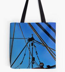 Shrimp Boat Rigging  Tote Bag