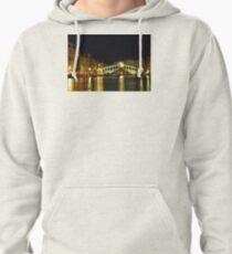 Rialto Bridge in Venice Pullover Hoodie