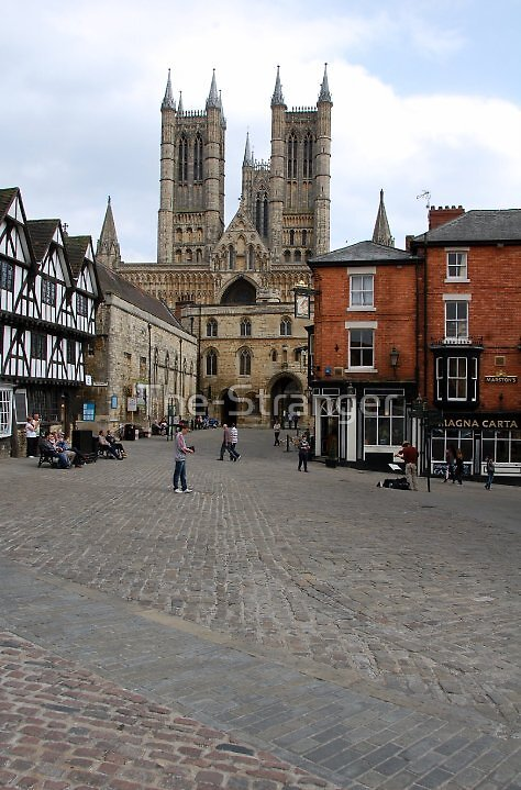 LINCOLN CATHEDRAL QUARTER by The-Stranger