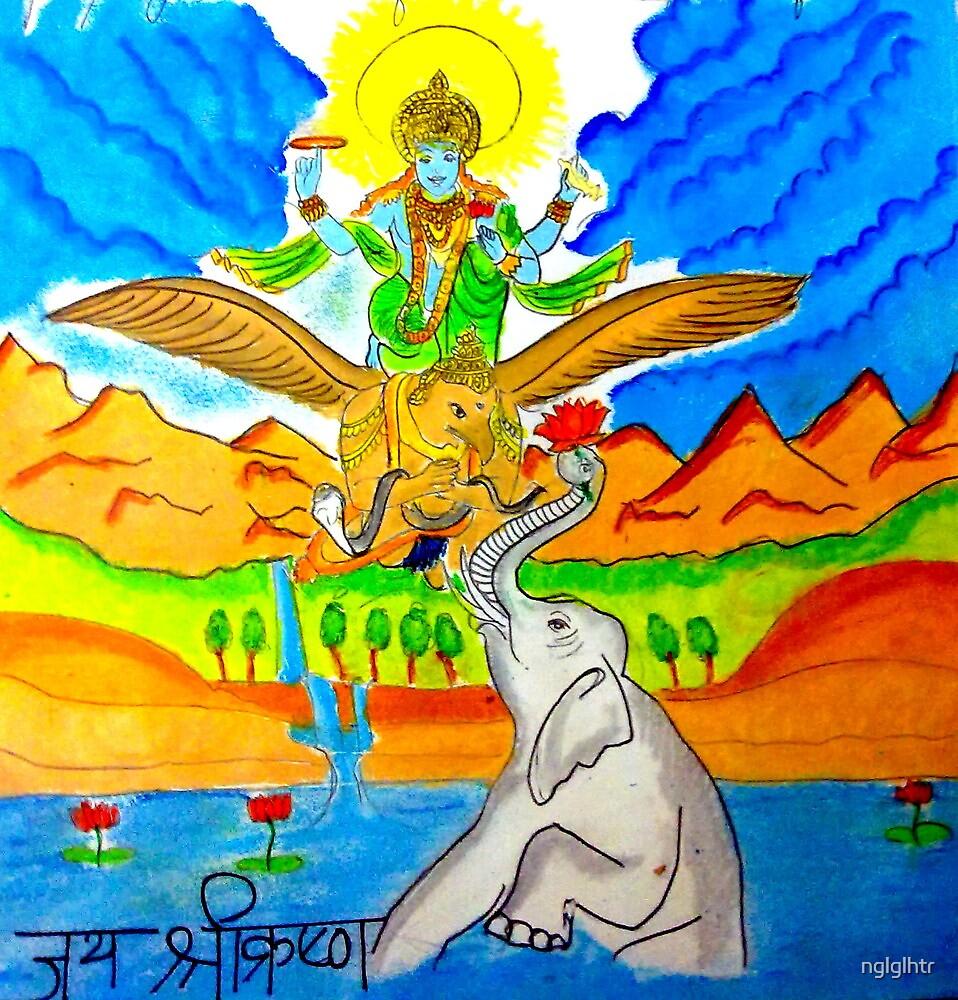 Vishnu by nglglhtr