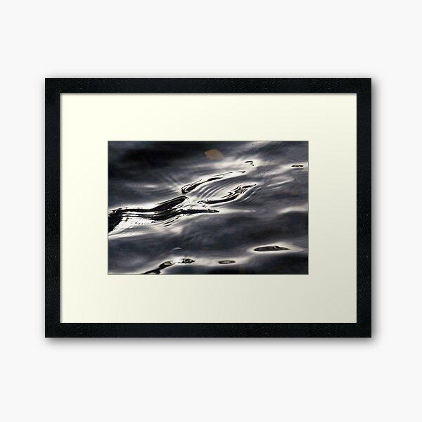 Lake Light Framed Art Print