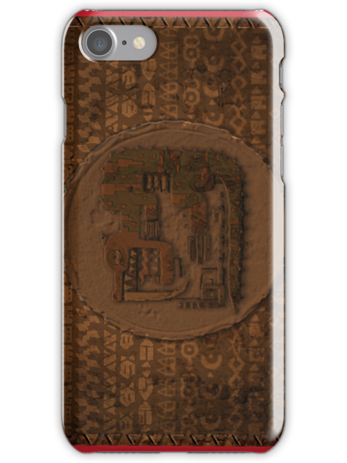 Monster Hunter Case (Tribal Rock) Design by Geckoface