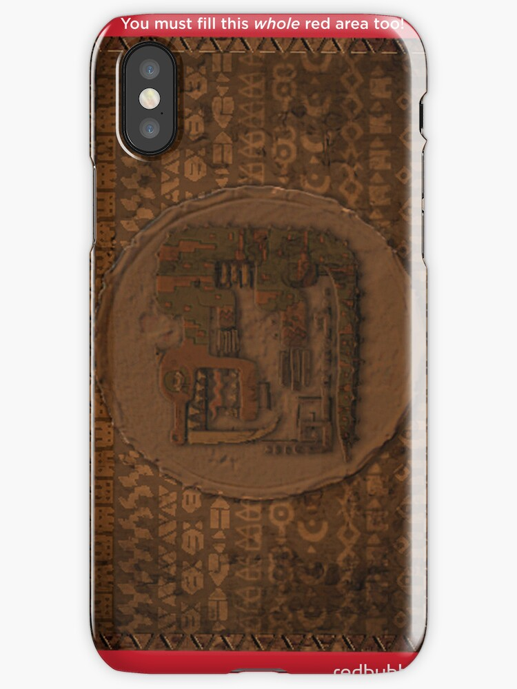Monster Hunter Case (Tribal Rock) Design by Geckoface