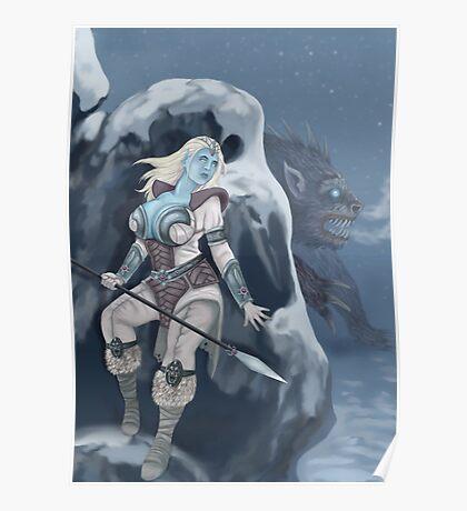 Illumina & the Ice Hacker Poster