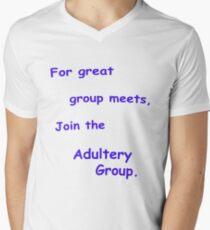 Group T Shirt Men's V-Neck T-Shirt