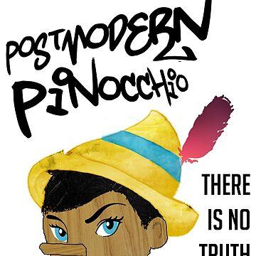 Postmodern Pinocchio by fandomwithlove