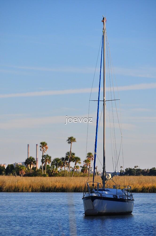 Sail Boat by joevoz