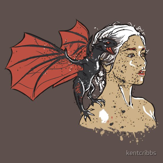 TShirtGifter presents: Mother of Dragons