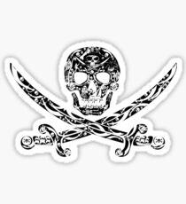 Pirate Bones Sticker