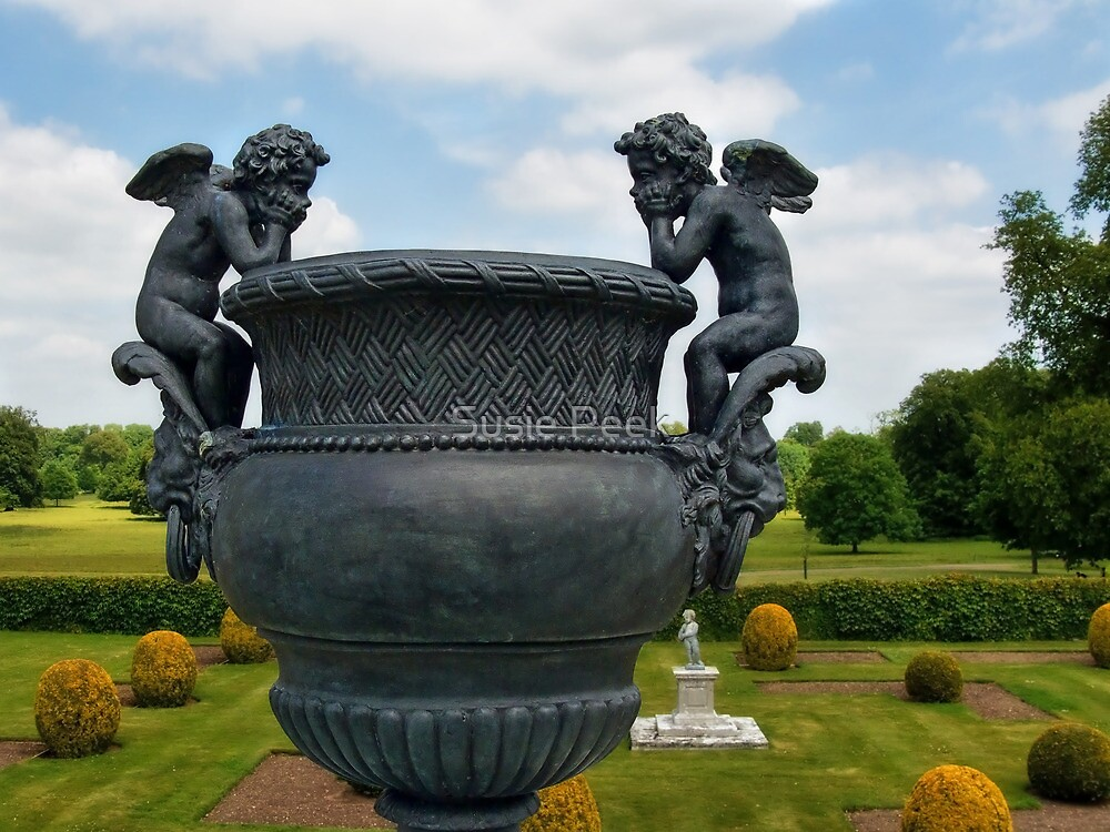 Cherubs At Kingston Lacy ~ Wimborne Minster by Susie Peek
