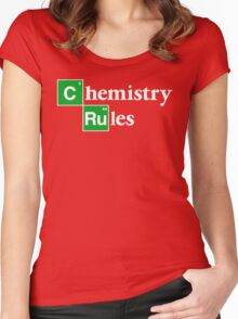 [C]hemistry [Ru]les Women's Fitted Scoop T-Shirt