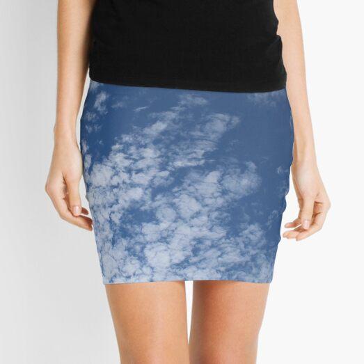 Altocumulus Abstract 3 Mini Skirt