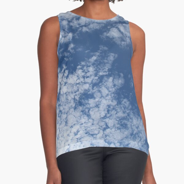 Altocumulus Abstract 3 Sleeveless Top