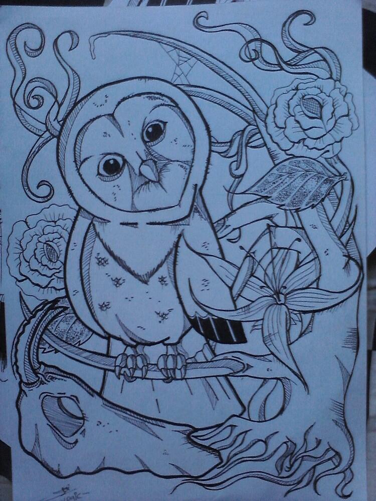 owl or end by yogicwiraharta