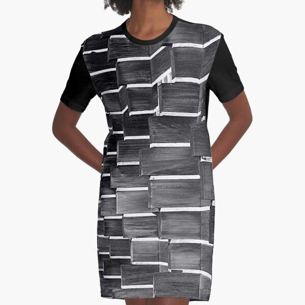 Technocratic Wall Graphic T-Shirt Dress