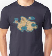Map of Neverland Unisex T-Shirt