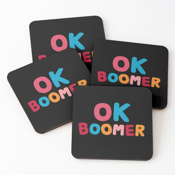 Ok boomer Coasters (Set of 4)