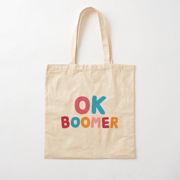 Ok boomer Cotton Tote Bag