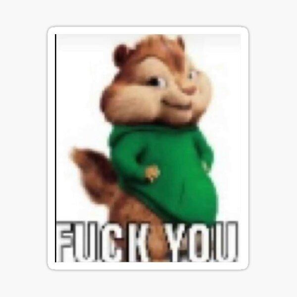 Frick You Meme Sticker Sticker