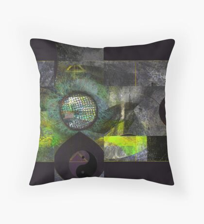 Soothing Chemistry Throw Pillow