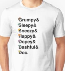 Seven Dwarfs Slim Fit T-Shirt