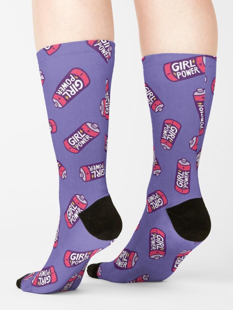 Alternate view of Girl Power Socks