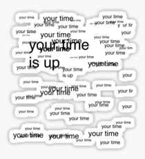 new your time Sticker