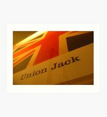 'Ol Union Jack Art Print
