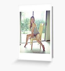 Tina-Grey-4 Greeting Card