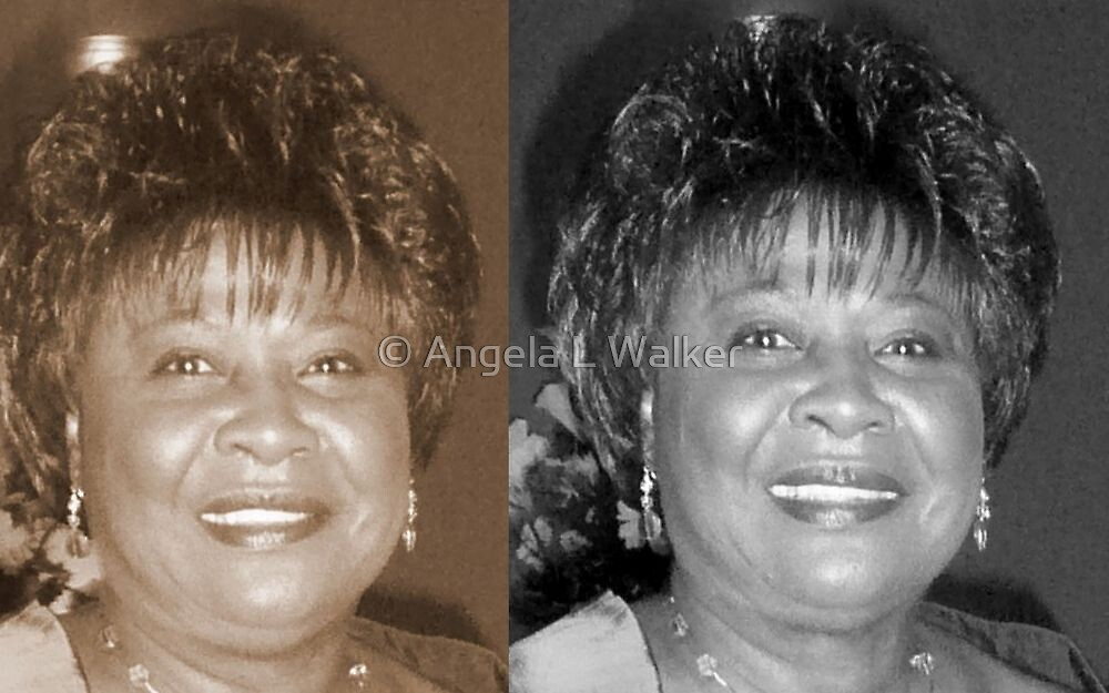 Madge's Sister Aunt Shirley by © Angela L Walker