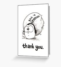 Bag 'O Gratitude - Thank You Card Greeting Card