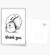 Bag 'O Gratitude - Thank You Card Postcards