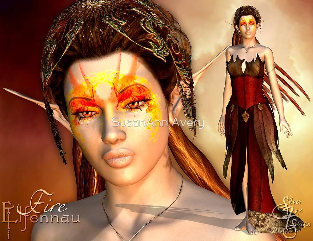 Elfennau of the Fire by SusanAnn Avery