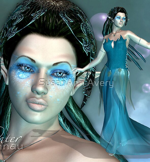 Elfennau of the Water by SusanAnn Avery