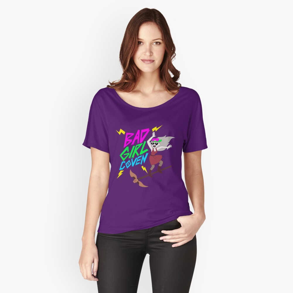 Bad Girl Coven - The Owl House Relaxed Fit T-Shirt
