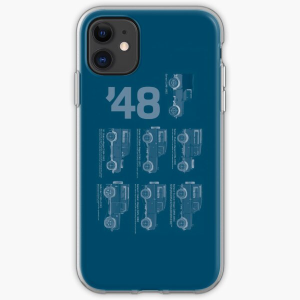 Land Rover '48 iPhone Soft Case