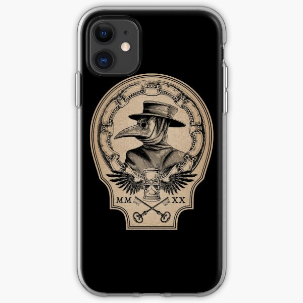 Vintage Plague Doctor iPhone Soft Case