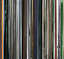 Moviebarcode: The Complete Animatrix (2003) by moviebarcode