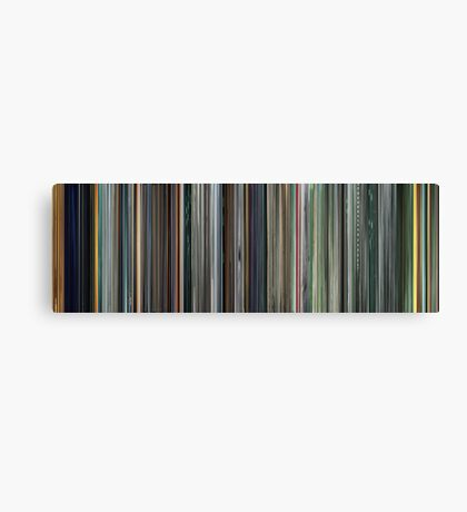 Moviebarcode: The Complete Animatrix (2003) Canvas Print