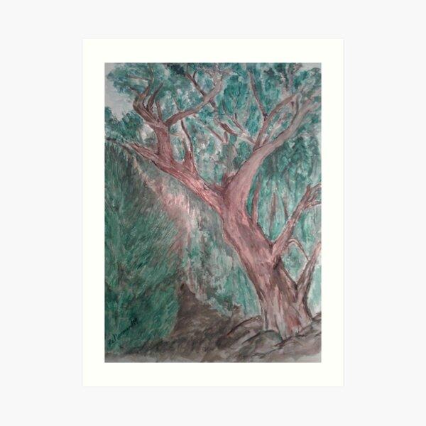 Rick's Tree  Art Print