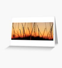 Whispers (Diptych) Greeting Card